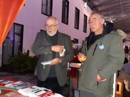 Rainer Rupp (li) und Peter Betscher