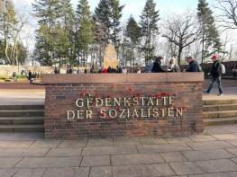 Die Gedenkstätte der Sozialisten