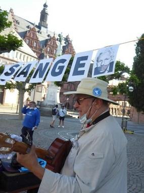 Global Protest Day in Frankfurt - Ernesto Schwarz