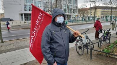 Potsdam 27.03.2021: Freidenker Jens Oldenburg (Foto: Ralf Lux)