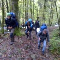 Aufstieg - Zastlerbach