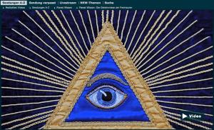 WDR-Mediathek-Screenshot aus »Die Geheimnisse der Freimaurer«