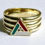 Freimaurer Ring 33. Grad AASR