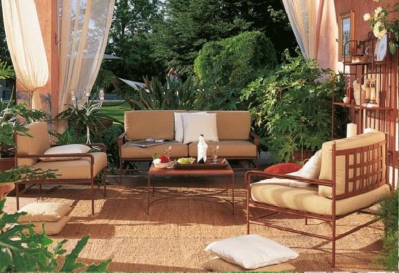 portail grille cloture en fer forge exterieur jardin villa maison pas cher fabricant maroc marrakech
