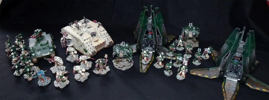Dark Angels Army Armee