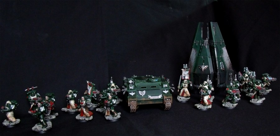 Dark Angels, Taktischer Trupp, Space Marines, Greenwing