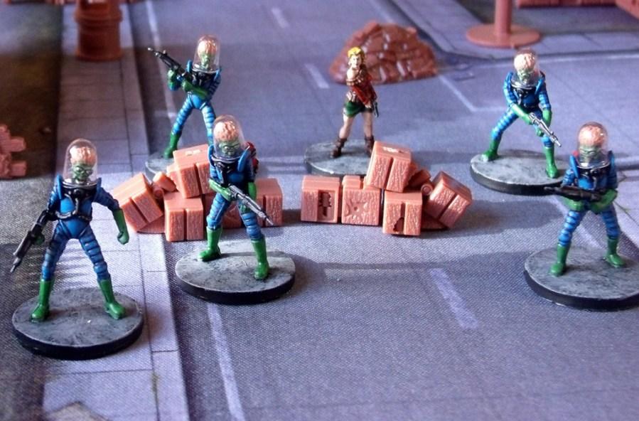 Mars Attacks Miniaturen