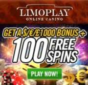 LimoPlay Casino free spins