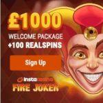 Insta Casino – 100 gratis spins and €1000 bonus – mobile & online