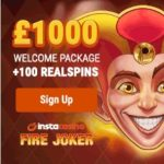 Insta Casino – 100 gratis spins and €1000 bonus – mobile & online