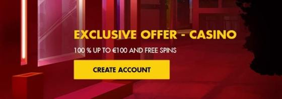 Bethard Casino register to play for free