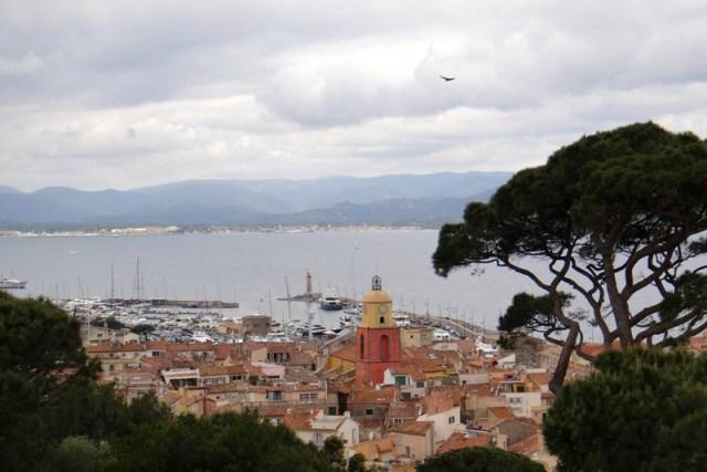 Vista do alto da Citadelle