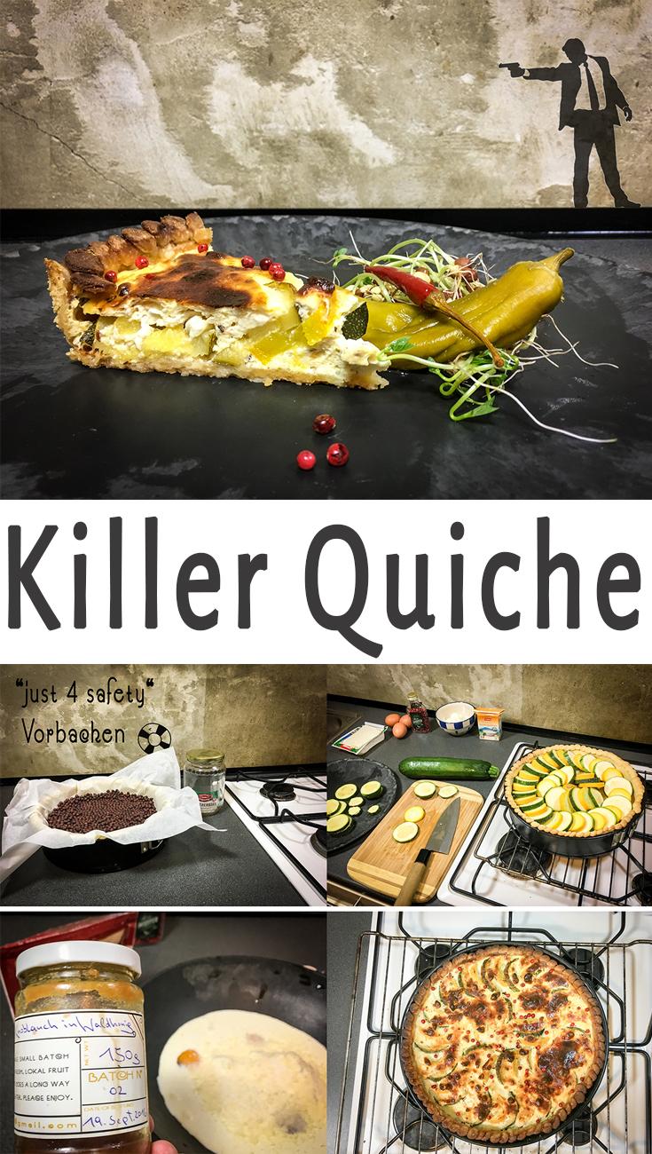 Der beste Zucchini Quiche der Welt, einfach ein Killer im Geschmack!