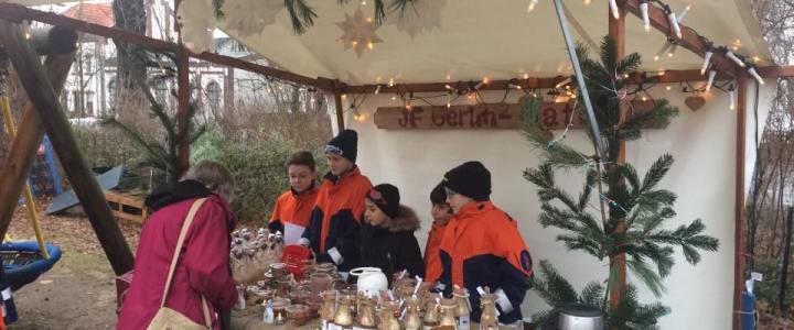 Kunst-Weihnachtsmarkt in Gatow