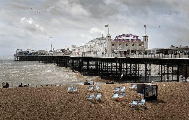 Brighton Reise Landschaft