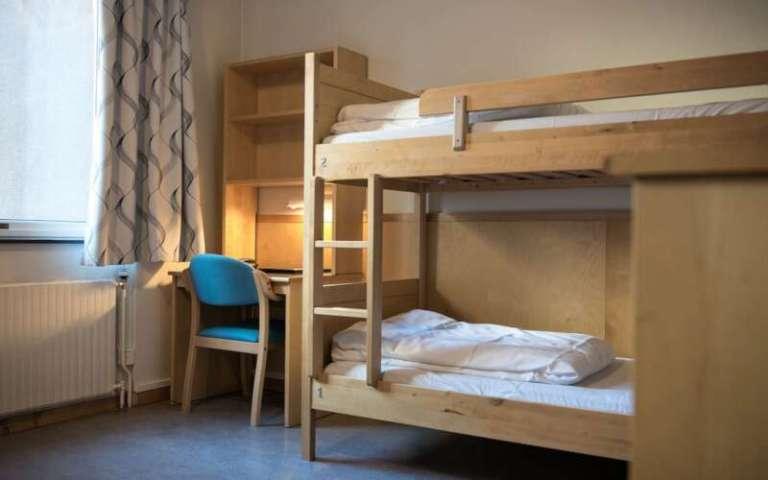 Oslo Unterkunft Perminalen Hostel Zimmeransicht