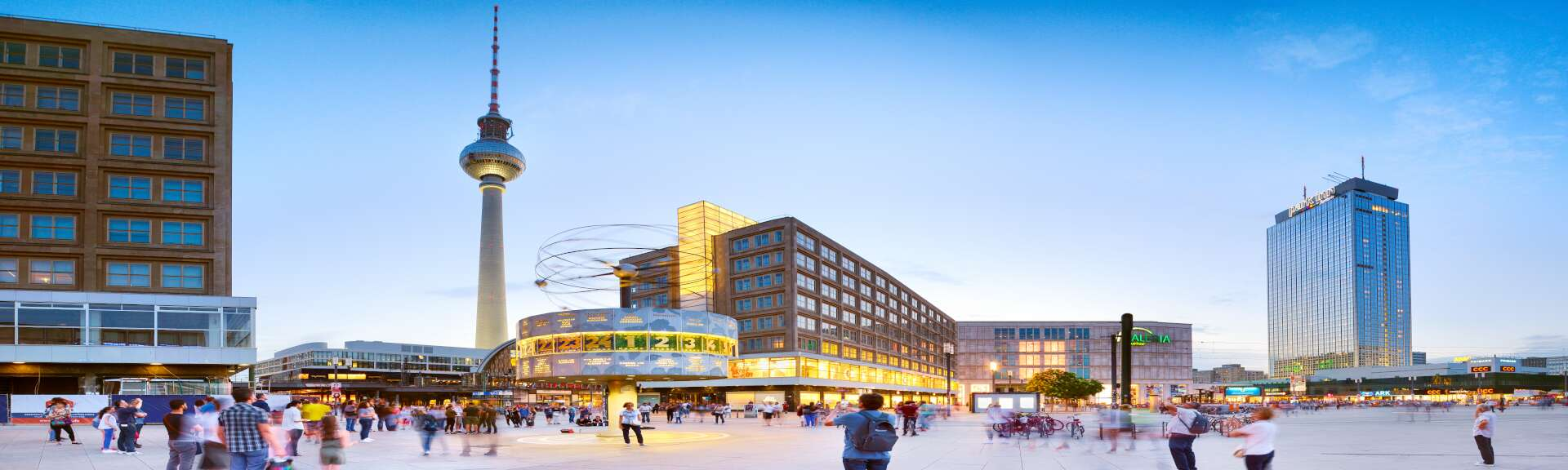 Klassenfahrt Berlin Alexanderplatz