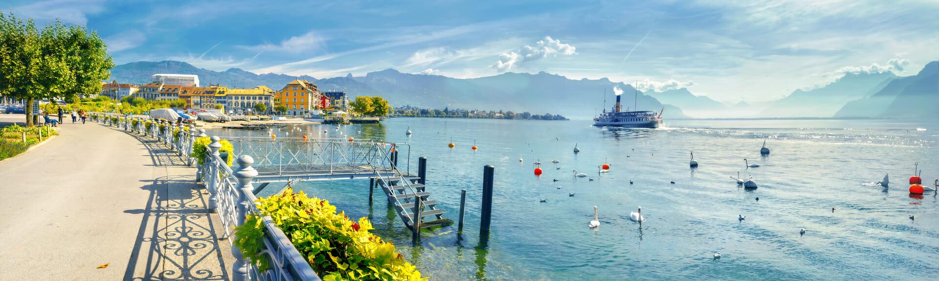 Klassenfahrt Genf Genfer See