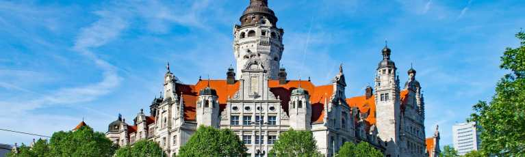 Klassenfahrt Leipzig Neues Rathaus