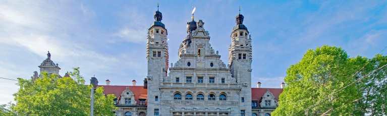 Klassenfahrt Leipzig Neues Rathaus 2