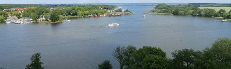Klassenfahrt Mecklenburgische Seenplatte Müritzsee