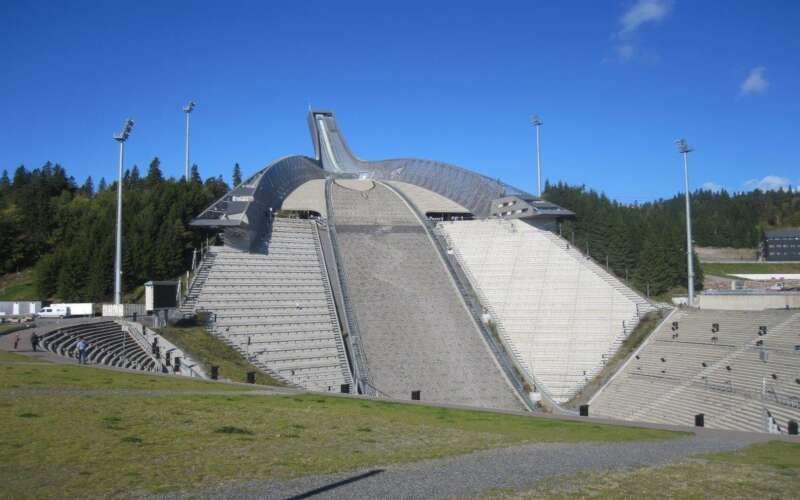 Klassenfahrt Oslo Holmenkollen