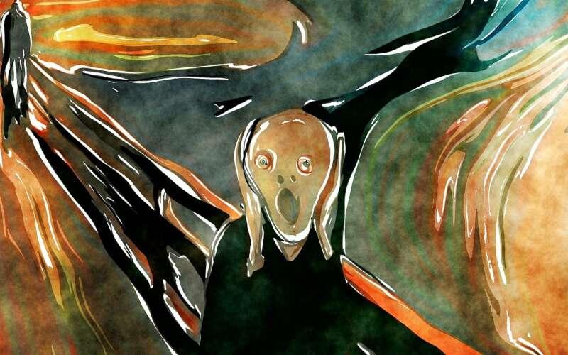 Klassenfahrt Oslo Munch Museum Bild der Schrei