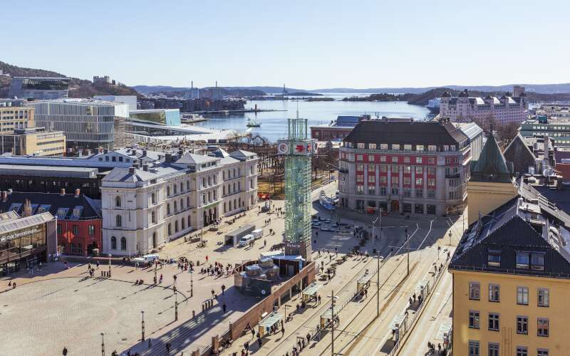 Klassenfahrt_Oslo_Stadtansicht