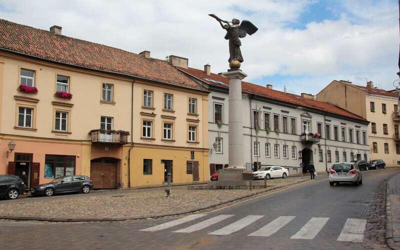 Uzupis Vilnius Engelstatue