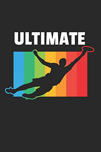 Ultimate Frisbee Notizbuch: Ultimate Frisbee Notizbuch für Liebhaber / Notizheft / Notizblock A5 (6x9in) Dotted Notebook / Punkteraster / 120 gepunktete Seiten
