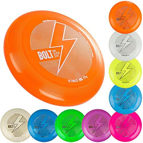 BOLT OneSevenFive Ultimate Frisbee Flying Disc! Fünf UV-Farben verfügbar! (Glow)