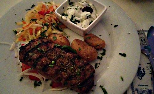 Bifteki Ammos