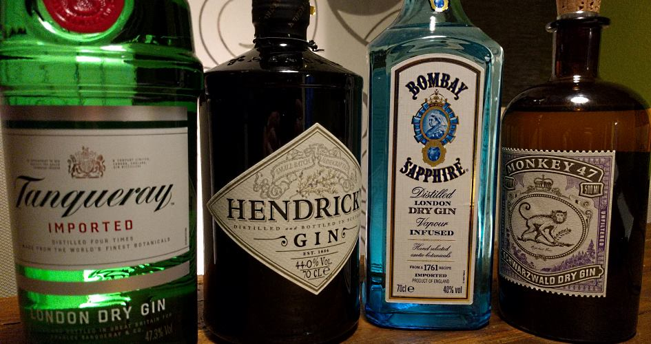 Gin Standards im Überblick