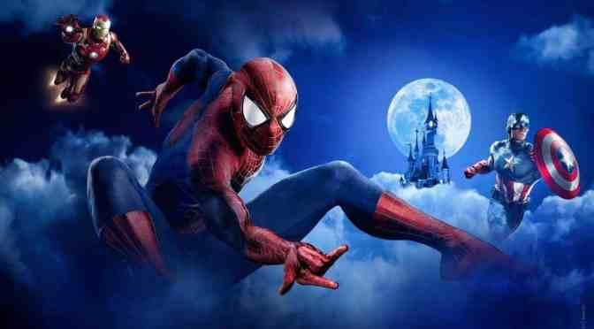 Marvel Superhelden im Anflug auf Disneyland Paris
