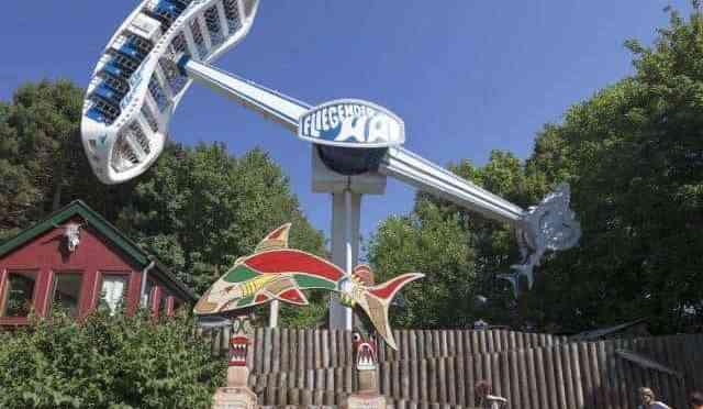 """Bye bye """"Fliegender Hai"""", der Hansa- Park schließt die überkopf Attrakion!"""