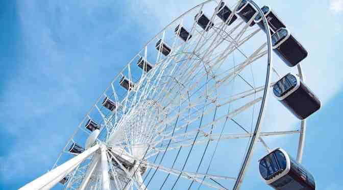 "78 Meter Hohes Riesenrad Namens ""Hi-Sky"" in München eröffnet!"