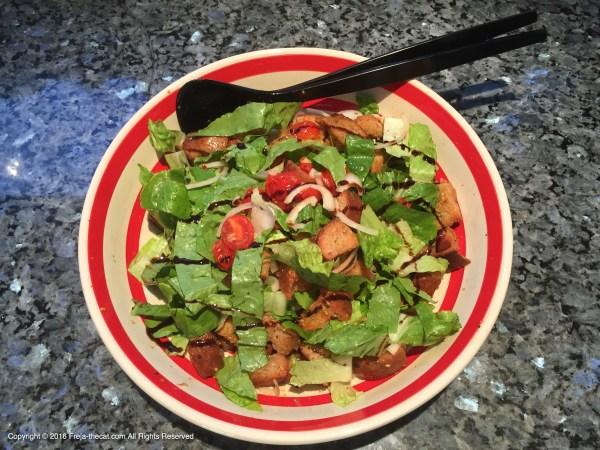 🌱 Bread Salad à la Freja