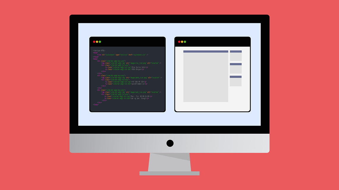 Design nettside