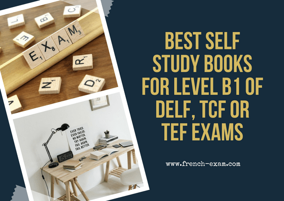 Best self study books for level B1 of DELF, TCF or TEF exams