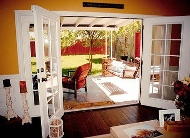 what is a sliding french door