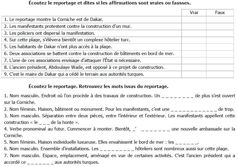 reading comprehension in french la construction de trop level a2 b1 online french tutor. Black Bedroom Furniture Sets. Home Design Ideas