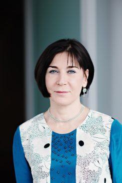 Valérie David, directrice du développement durable et de l'innovation transverse du groupe Eiffage.