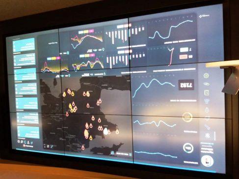 L'hyperviseur agrège les données issues de la GTB, de la GMAO, de la gestion de l'énergie pour assurer le suivi des sites d'un client.