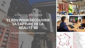 11 RDV pour découvrir la capture de la Réalité 3D avec Romain Sommero de Leica Geosystems
