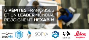 6 Pépites Françaises et un Leader Mondial rejoignent la Plateforme HEXABIM