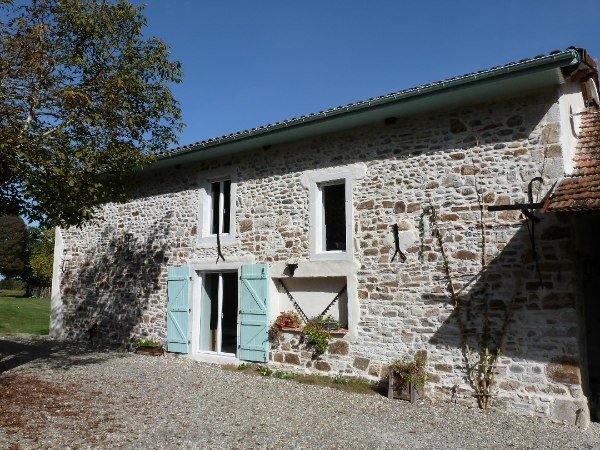 A Beautifully Converted Stone Barn Conversion With Independant Guest House For Sale French