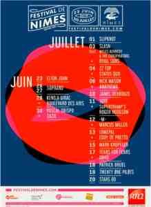 nimes festival poster 2019