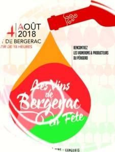 bergerac wine fair poster