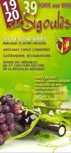 sigoules wine fair poster