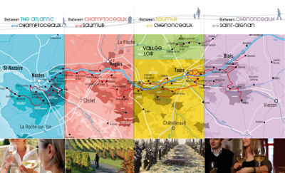 loire valley wine route and map